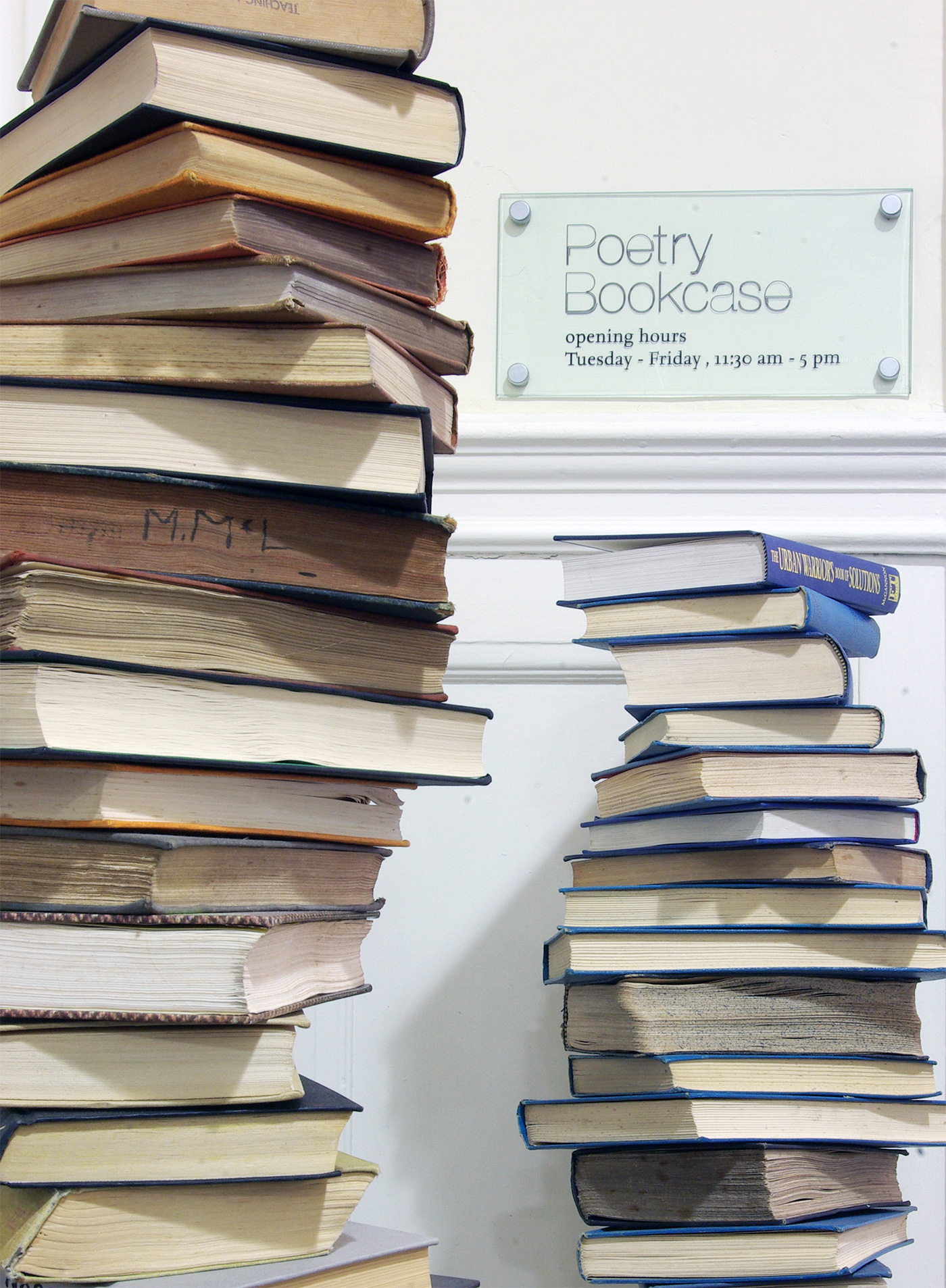 """Litfest's Poetry Bookcase"" by Lancaster Litfest is licensed under CC BY 2.0"