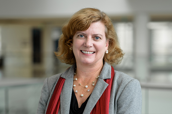 Julie Nash, the university's first vice provost for student success, wants to increase retention and develop richer learning experiences for all students.