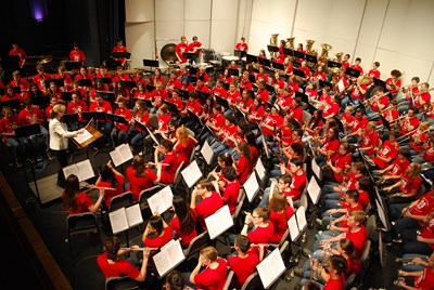 The 2017 Mary Jo Leahey Symphonic Band Camp concert