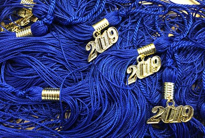 2019 Commencement tassels