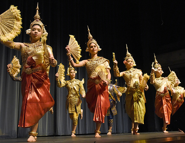 Lowell's Angkor Dance Troupe will perform as part of the Southeast Asian American Studies Conference.