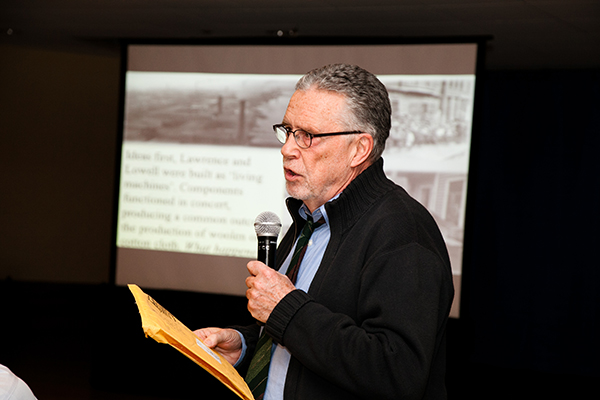 Local historian and researcher Robert Forrant has been named UMass Lowell's 2016 Distinguished University Professor.