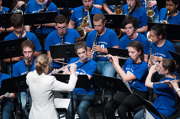 For the 21st year, young musicians will come to UMass Lowell in July to develop their talents at the Mary Jo Leahey Symphonic Band Camp.