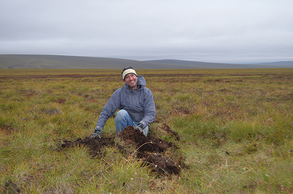 UMass Lowell Prof. Daniel Obrist spent two years in the Alaskan tundra where he and an international team of scientists investigated the source of high levels of mercury pollution in the region.
