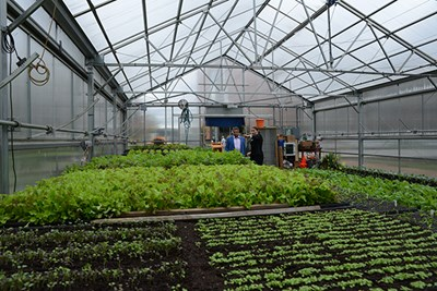 Dedication of the Rist Urban Agriculture Greenhouse and Farm