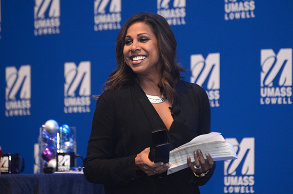 "Interior designer and TV star Taniya Nayak, a UMass Lowell graduate, will be one of the keynote speakers during ""The Power and Potential of Women"" leadership conference on Tuesday, June 21."