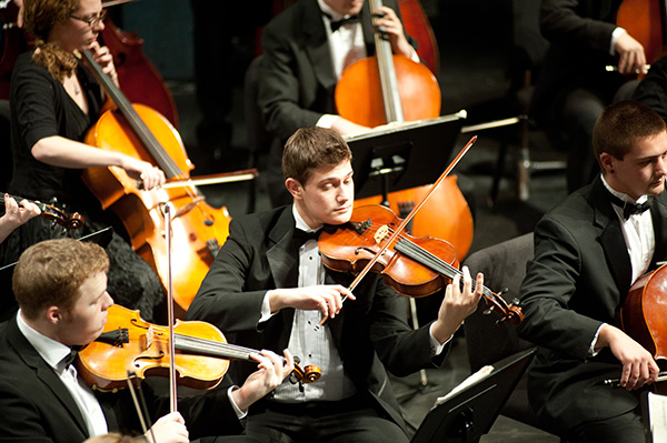 The University Orchestra will present a free concert that is open to the public on Friday, Feb. 12 at 7:30 p.m. in Durgin Concert Hall on South Campus.