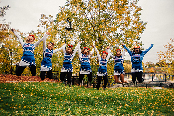 School spirit will soar during River Hawk Homecoming, Friday, Oct. 21 through Sunday, Oct. 23.