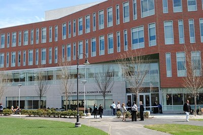 The Health and Social Sciences Building at UMass Lowell