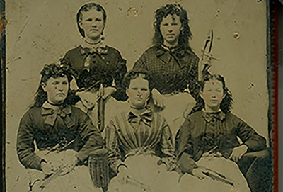 Lowell Mill Girls - credit UMass Lowell with photo