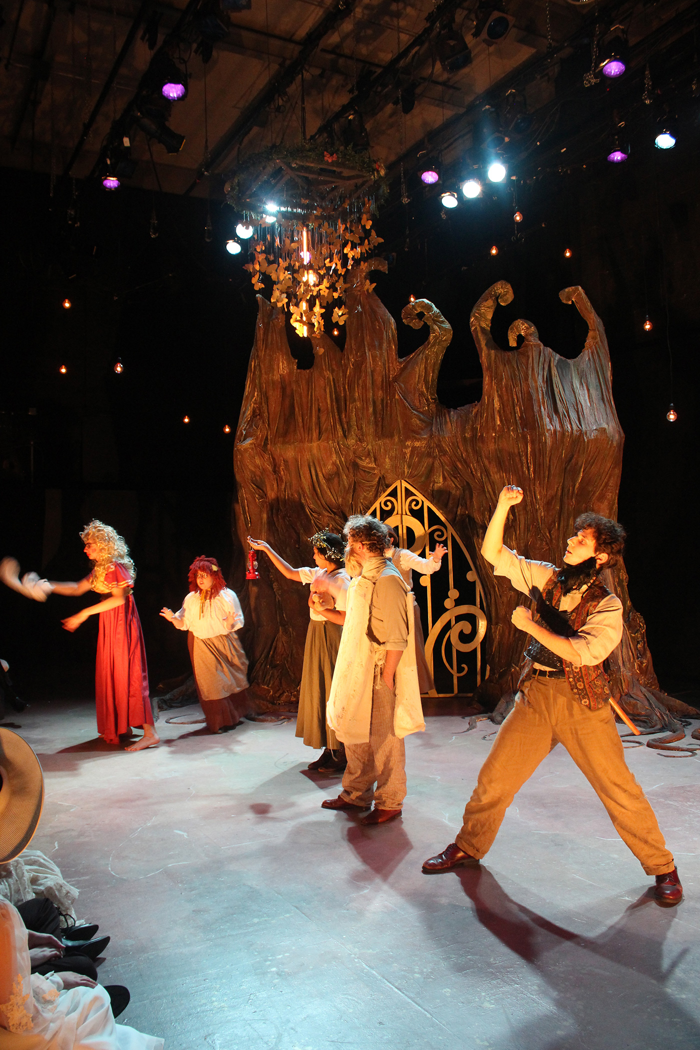 UMass Lowell students perform A Midsummer Night's Dream, the comedy written by William Shakespeare in 1595/96.