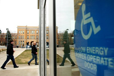 Physical Improvements Plan universal design on campus