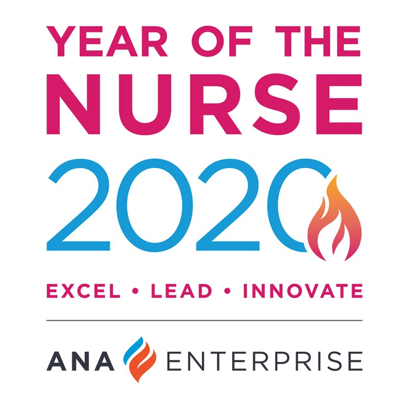 ANA Year of the Nurse logo.