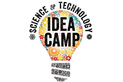 IDEA camp lightbulb logo