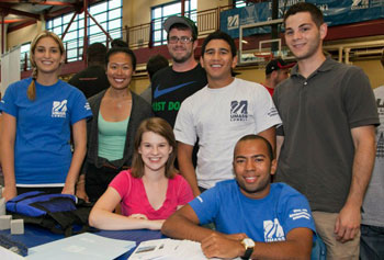 UMass Lowell students are higher-achieving and more diverse than ever before. Photo by Meghan Moore