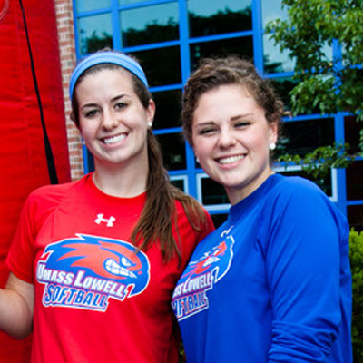 UMass Lowell undergraduate students