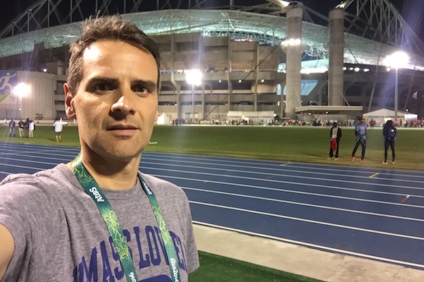 New faculty member Alex Lopes researched athlete injuries at the 2016 Rio Olympic Games.