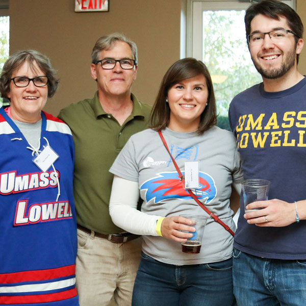 Group of UMass Lowell alumni at an event in Colorado