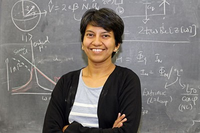 Archana Kamal of Physics