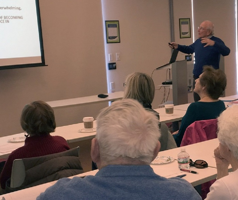 LIRA Member Arnie Kirshner Lectures on Brain Health