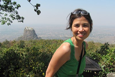 Political Science Chairwoman Ardeth Thawnghmung does research in Myanmar, where she grew up.