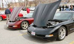 Umass Lowell's Auto-show, a car's auto part show.