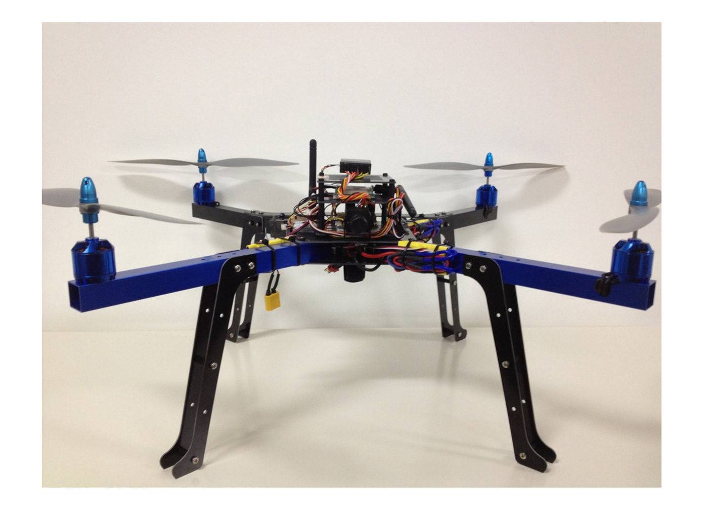 Small-scale air autonomous vehicle. The AUTONOMOUS ROBOTIC SYSTEMS LAB is  dedicated to the research on all aspects of Autonomous Robotic Systems, from conceptual design to detailed assembly, testing, and evaluation.