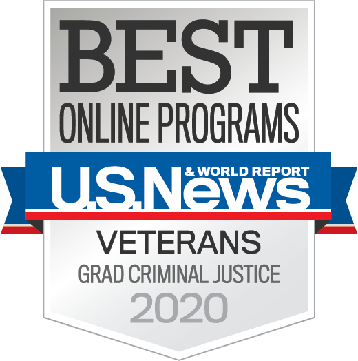U.S. News & World Report Best Online Programs for veterans grad criminal justice