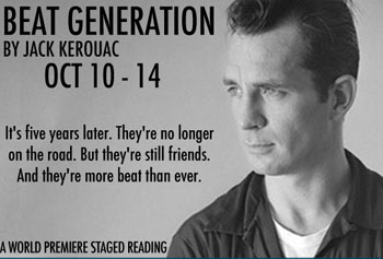 """Beat Generation"" premieres at the MRT on Oct. 10, which is UMass Lowell Night at the theatre. Image courtesy of MRT."
