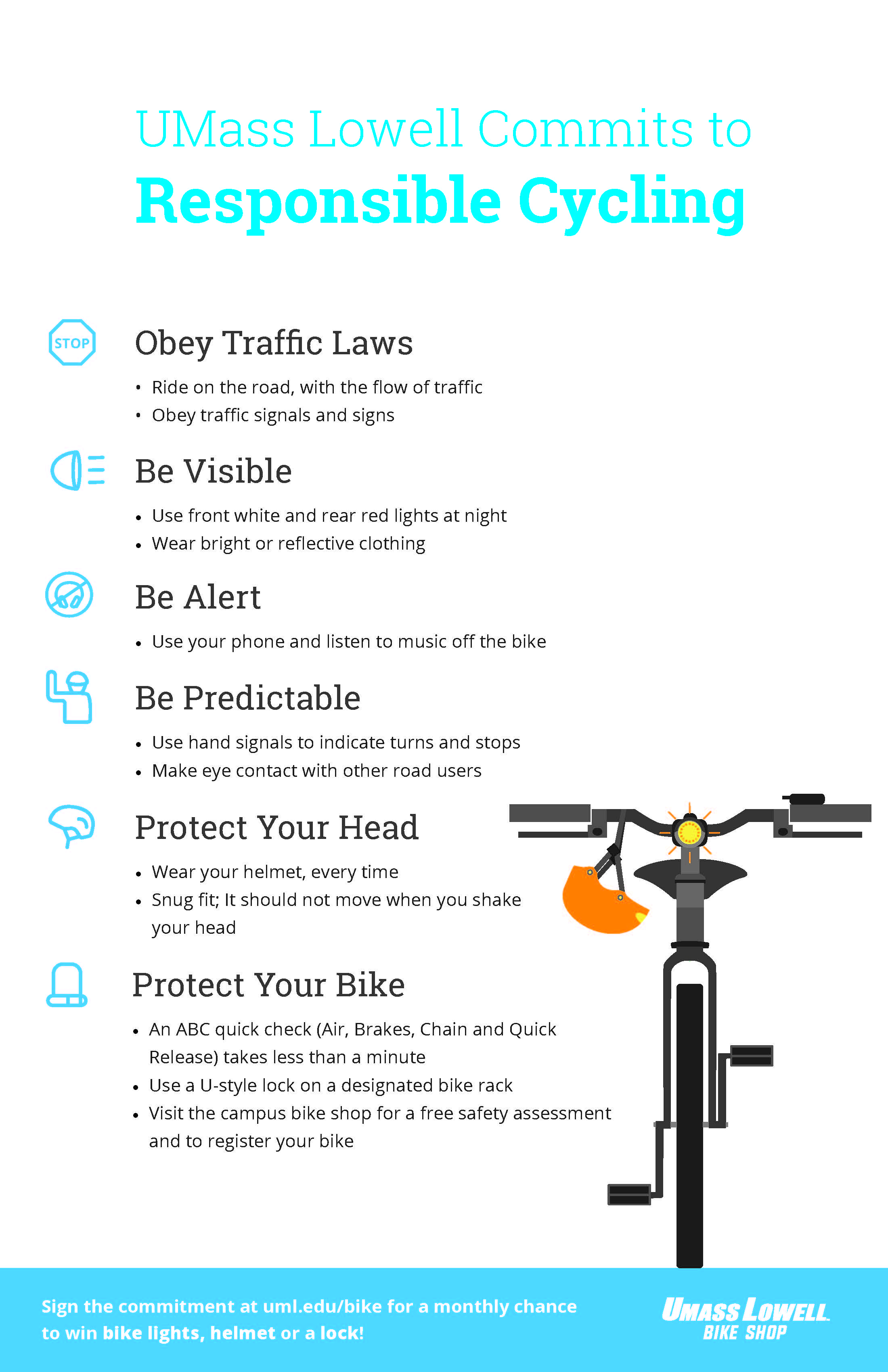 Bike Safety Poster
