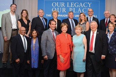 Group shot of Celebration of Philanthropy honorees
