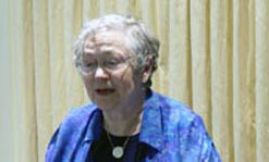 "Mary Catherine Bateson, author of ""Composing a Life,"" spoke at the Center for Women & Work 2011 Forum."