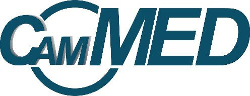 Cam-Med Logo_Cam Med is a development stage company applying microfluidic design to medical devices