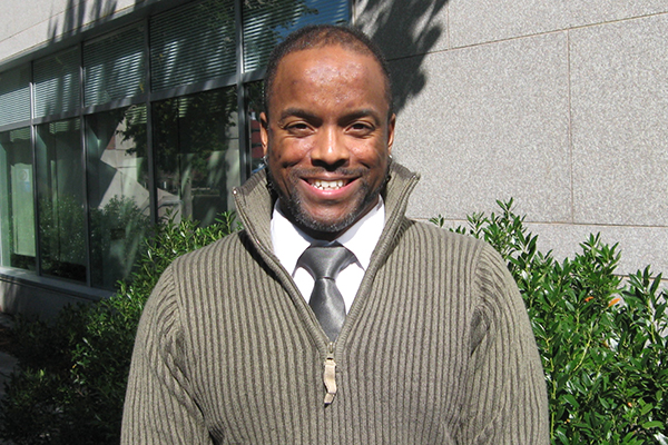 Asst. Prof. of Psychology Christopher Allen specializes in gender-related violence.