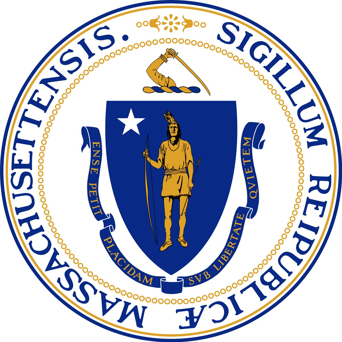 The Commonwealth of Massachusetts seal