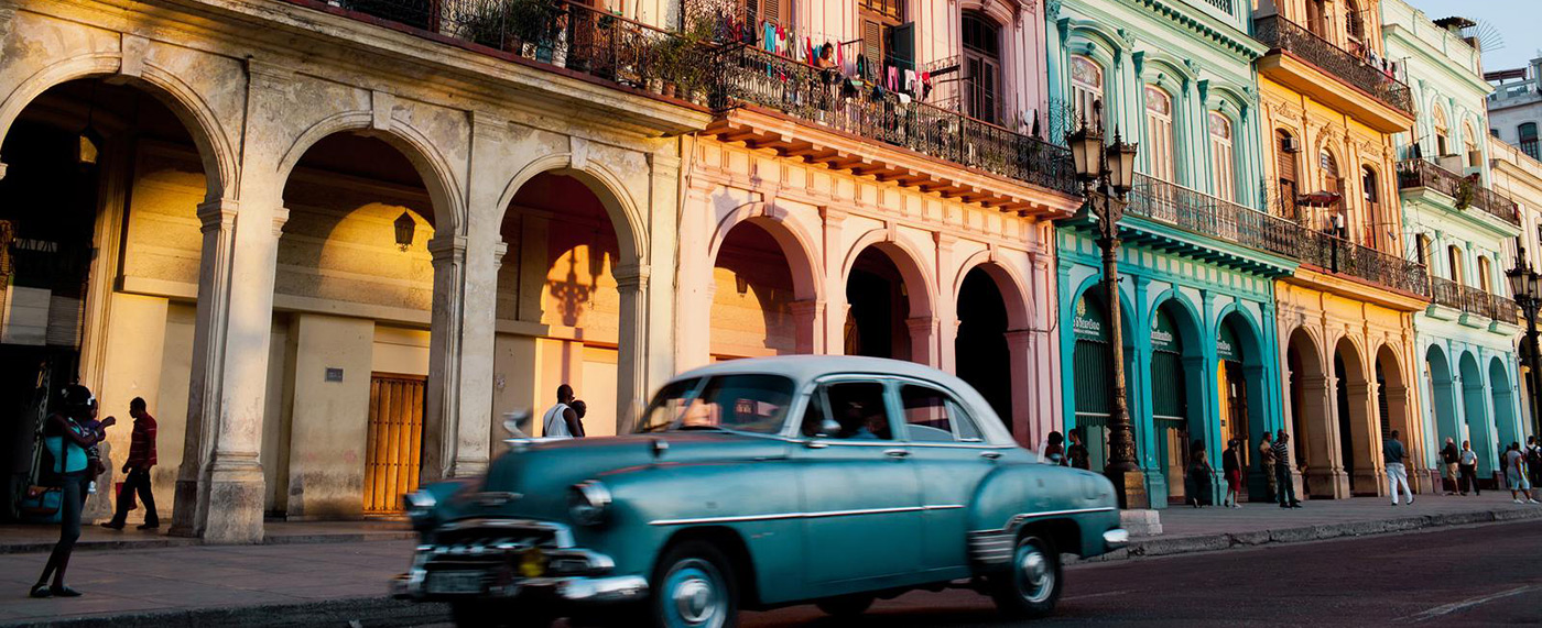 A promotional shot for Cuba used by UMass Lowell Study Abroad.