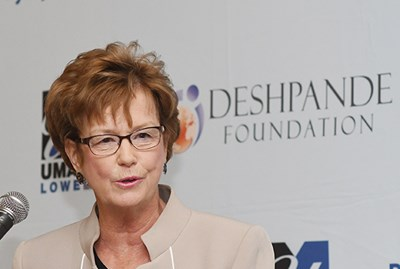 Chancellor Moloney at 2018 Deshpande Symposium