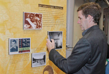 Kerouac fans are already enjoying the new Kerouac exhibit at Lowell National Historical Park created in partnership with UMass Lowell.