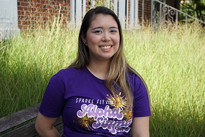 UML student Ashley Habenicht has a BLA concentration in digital media