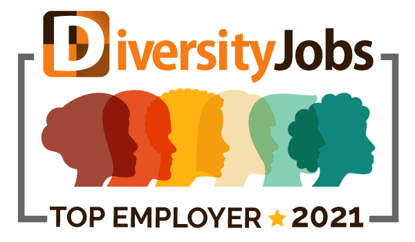 Diversity Jobs Top Employer 2021 Logo