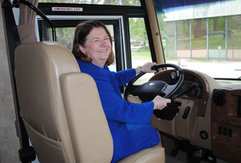 Mastermind behind the idea for the grant, Prof. Jacqueline Dowling is one of the nursing faculty members who will drive the mobile laboratory to Lowell and Lawrence schools and community centers.