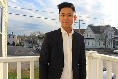 "International student Duy ""Jeremy"" Cung is about to graduate from UMass Lowell in mechanical engineering"
