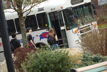 UMass Lowell earned an award for expanding commuter benefits like shuttle bus service that help create a healthier and more sustainable environment.