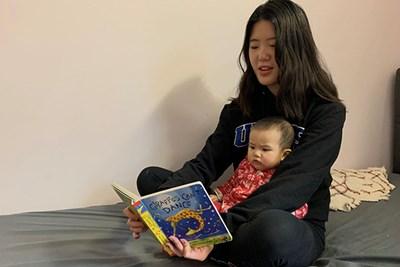 UMass Lowell education major Brianna Yuen