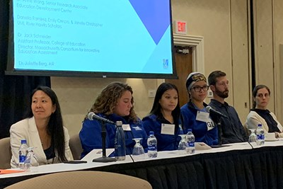 Educators, students and faculty talked about social and emotional learning at the 2019 Panasuk Symposium at UMass Lowell