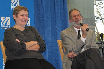 Polling expert Marjorie Connelly and Tufts Prof. Jeffrey Berry talked about the challenges of the 2016 presidential race.