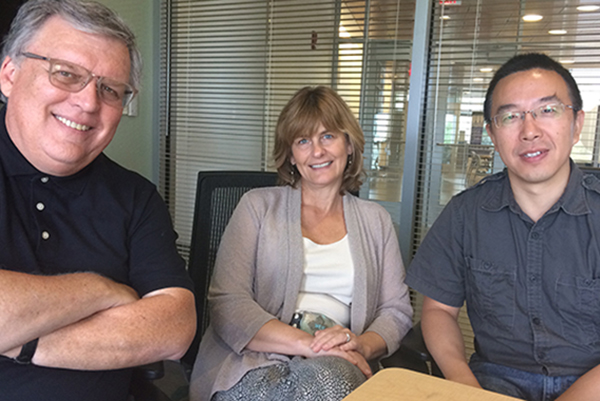 UMass Lowell researchers Ron Corbett, April Pattavina and Guanling Chen are developing a new approach to electronic monitoring for parolees.