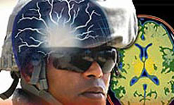 A new optical sensor network being developed by UMass Lowell researchers will ultimately help improve soldiers' helmets.