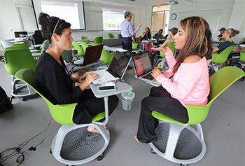 A growing number of UMass Lowell faculty members are embracing innovative teaching methods like the flipped classroom to promote active learning.