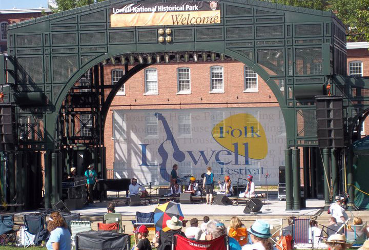 The Lowell Folk Festival is just one of many fun summer activities in the city.